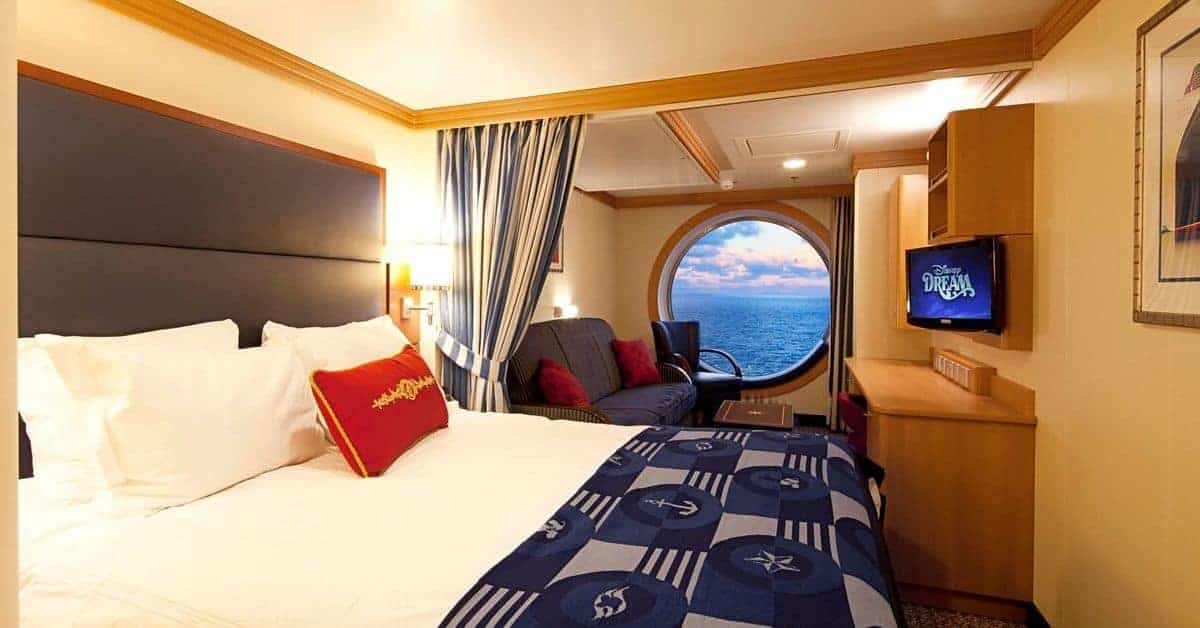 Disney Dream Room with a View