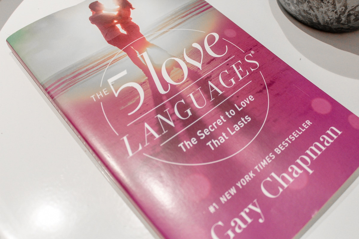 The 5 Love Languages book by Gary Chapman