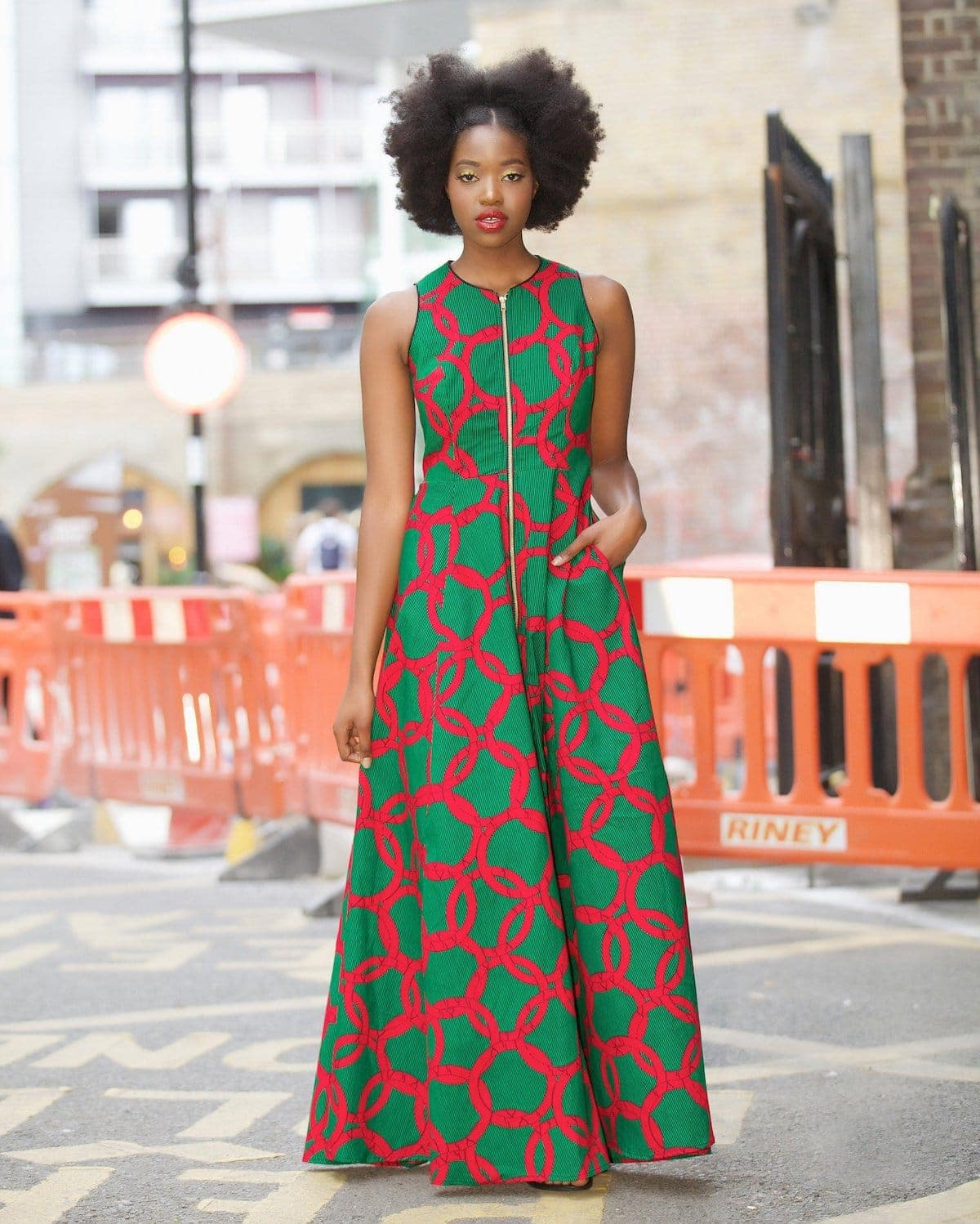 73ce18ae872d Who would have thought that African print clothes would look this good?  Check out this