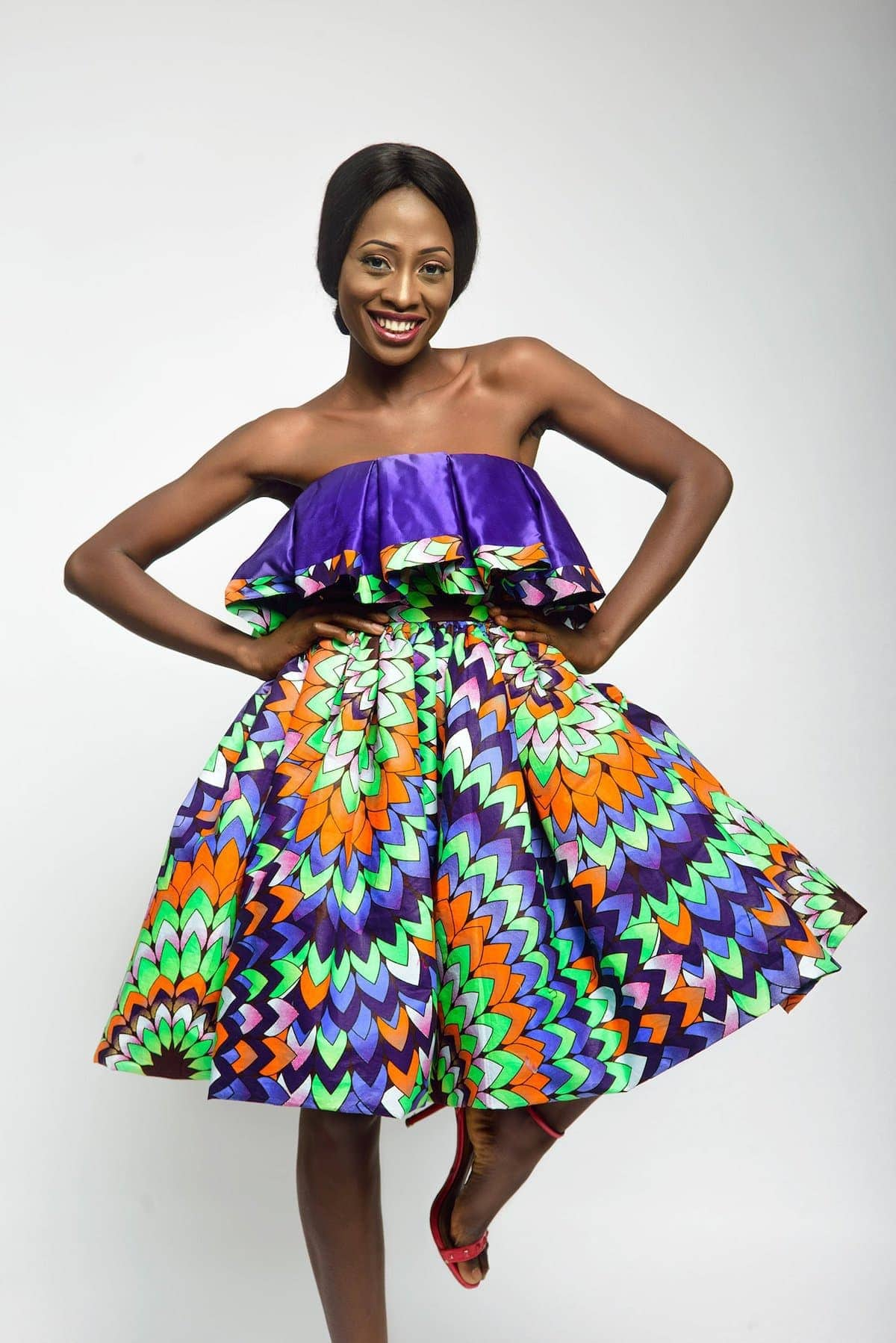 2b616354a5305 The best selection of over 50 best African print dresses for special  occasions. These dresses
