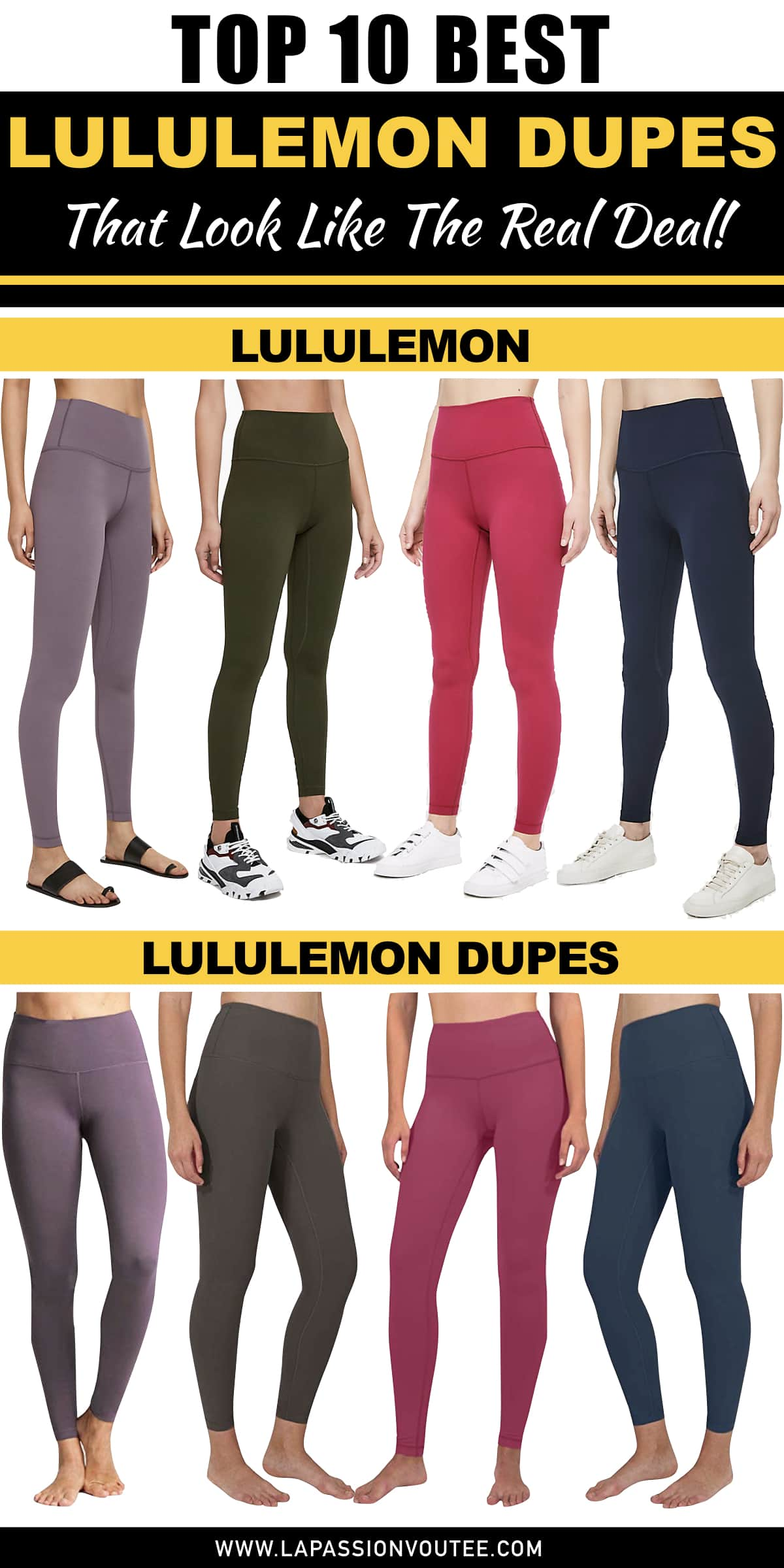 ff2a1daec4 After much research (and shopping), these are the best of the best Lululemon