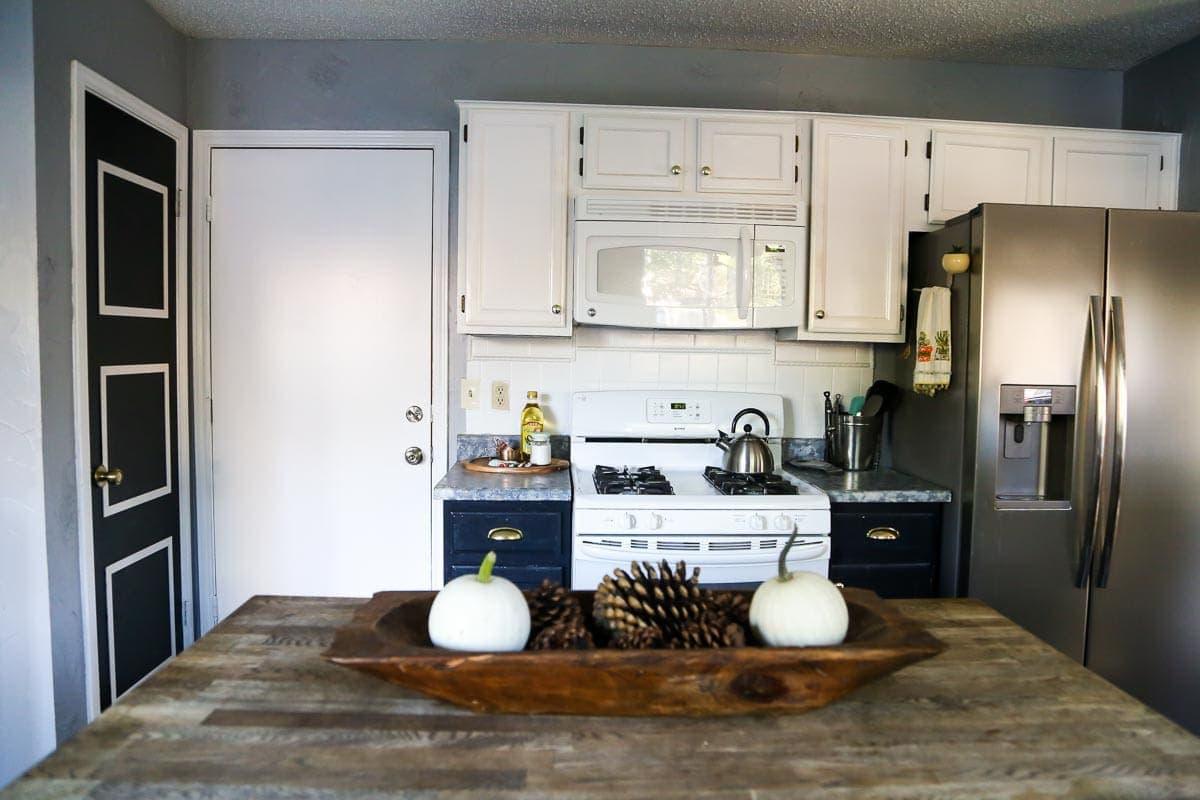 Kitchen after photos