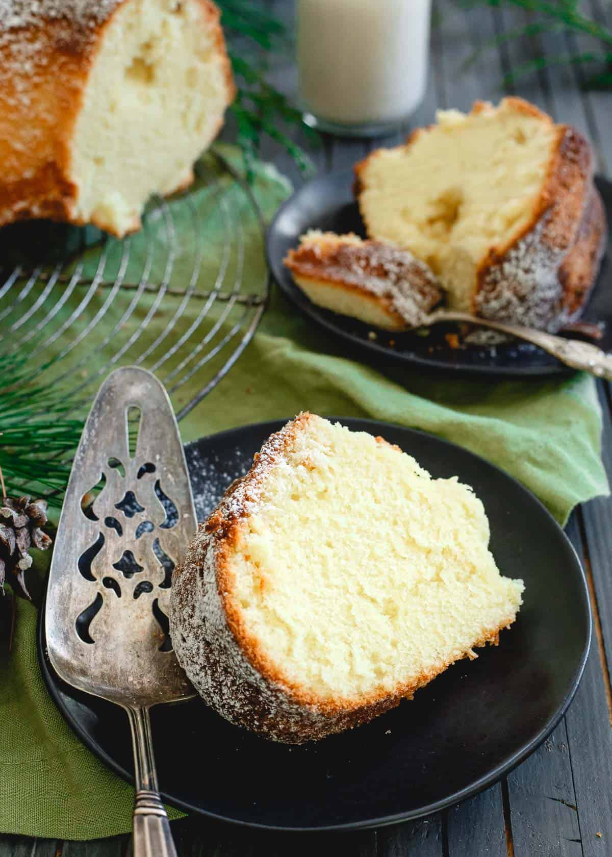 This apricot brandy pound cake comes together in minutes in your mixer but explodes with flavors in the moist, dense bundt cake. Make it this holiday season!
