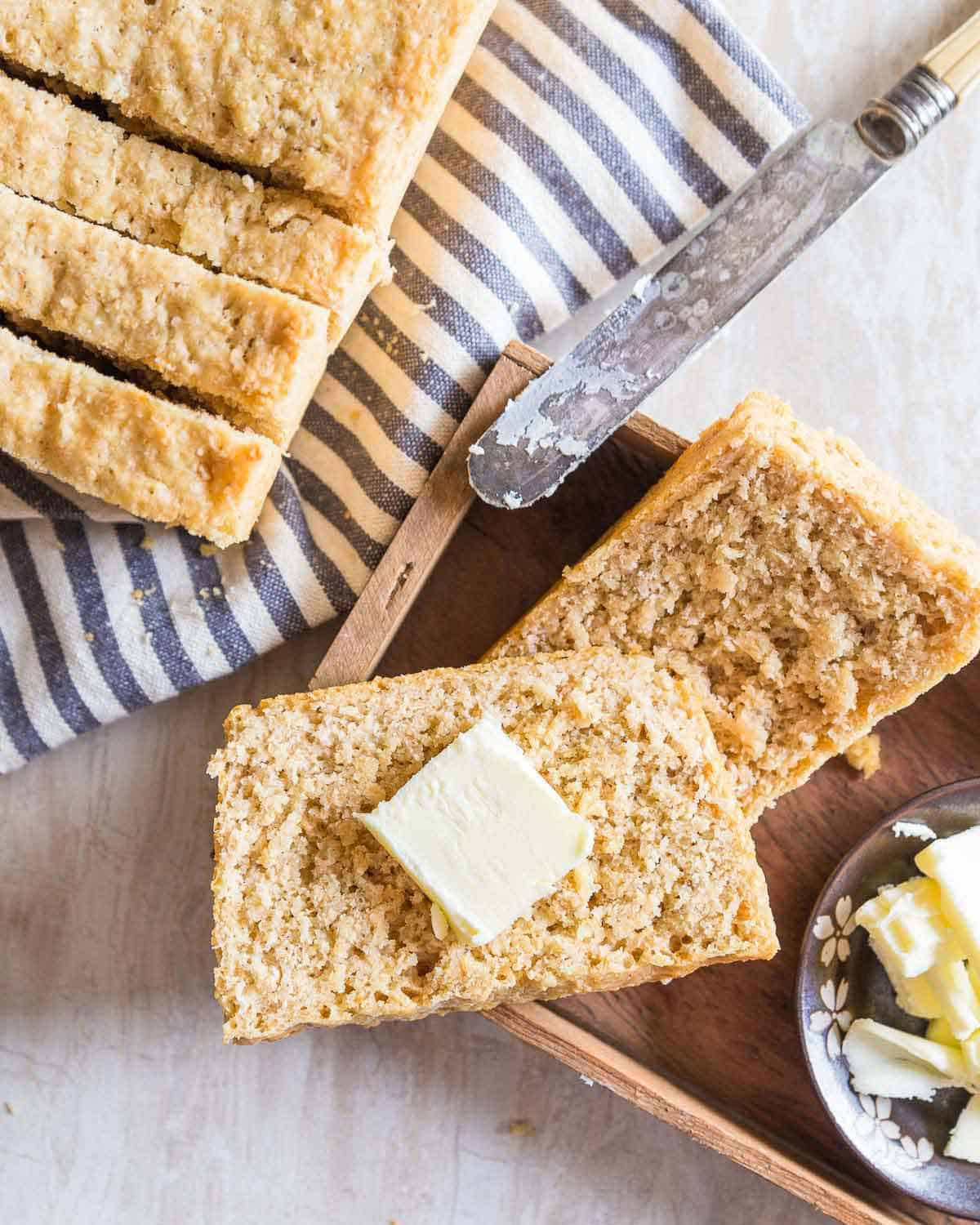 Learn how to make oat bread with this simple recipe.