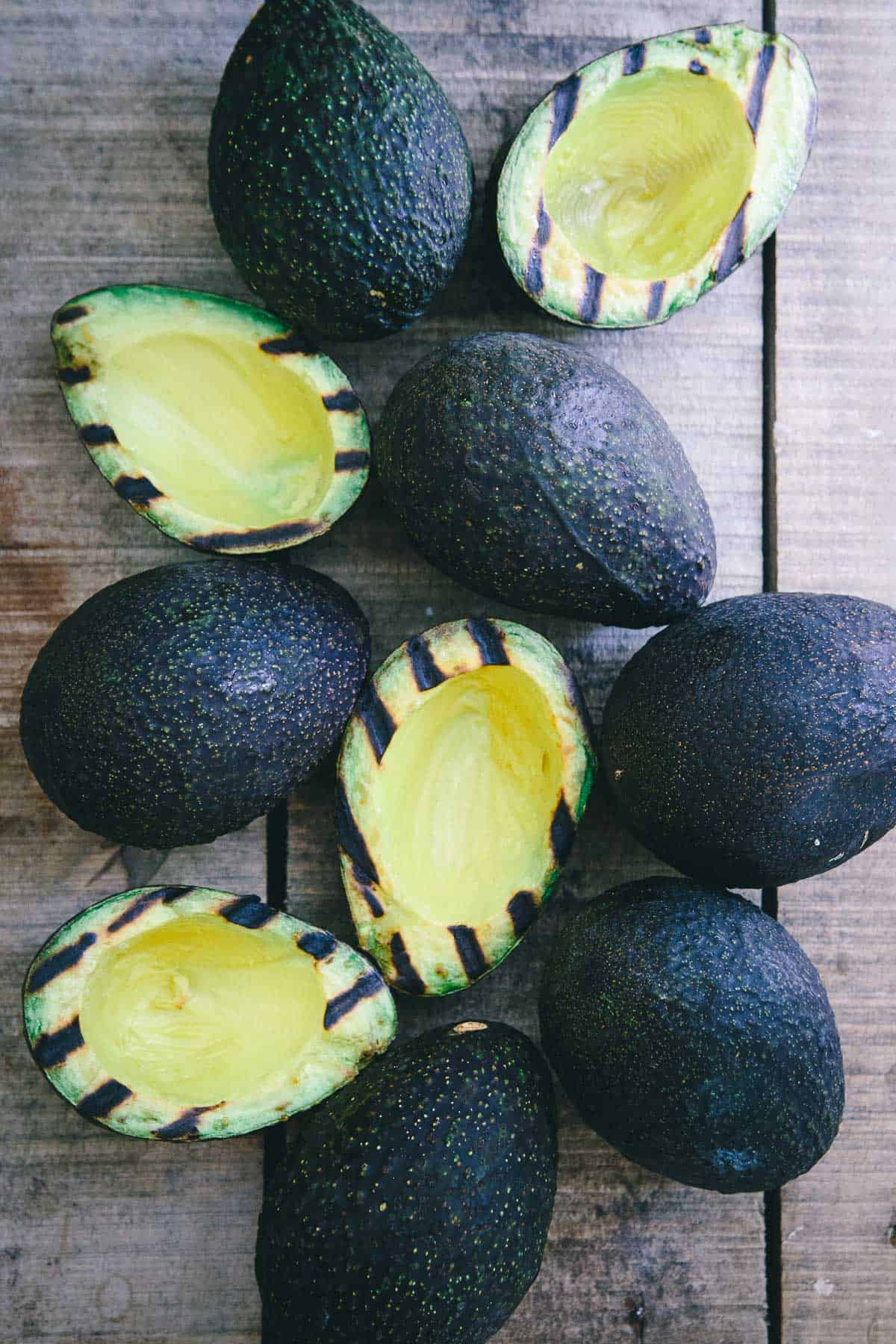 These grilled avocados are stuffed with Asian marinated steak for an easy, healthy and delicious summer meal.