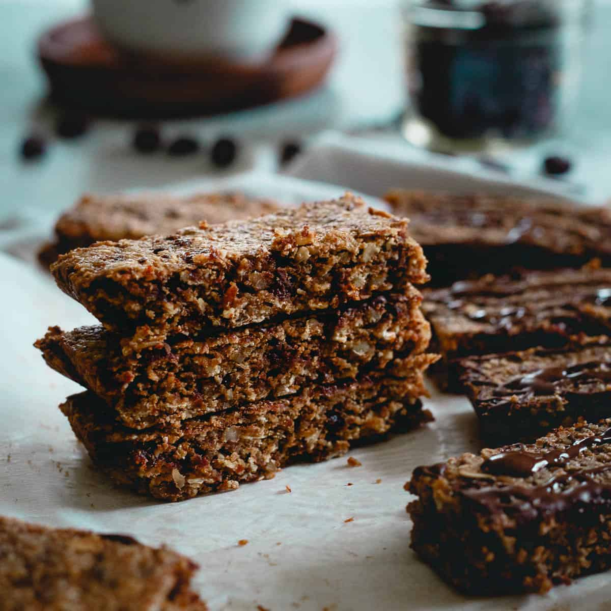 Grab a chewy tart cherry oat bar to fuel up before or after your workout for a tasty and healthy snack.