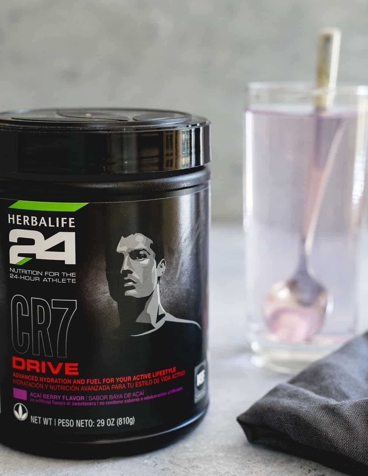 Herbalife's CR7 Drive is a great hydration option for athletes with a blend of electrolytes, carbohydrates and vitamins.