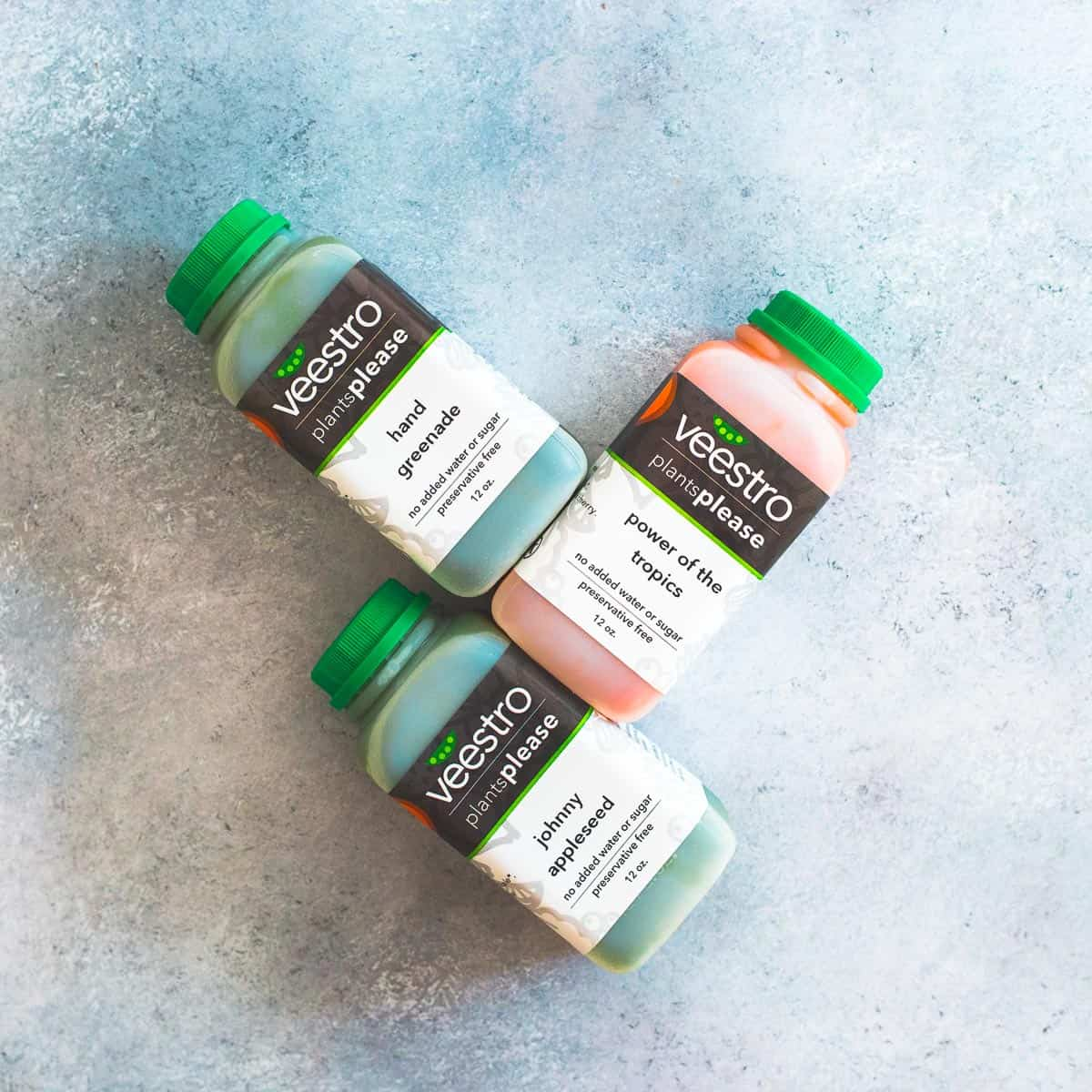 Veestro juices are a delicious addition to any meal, especially breakfast.