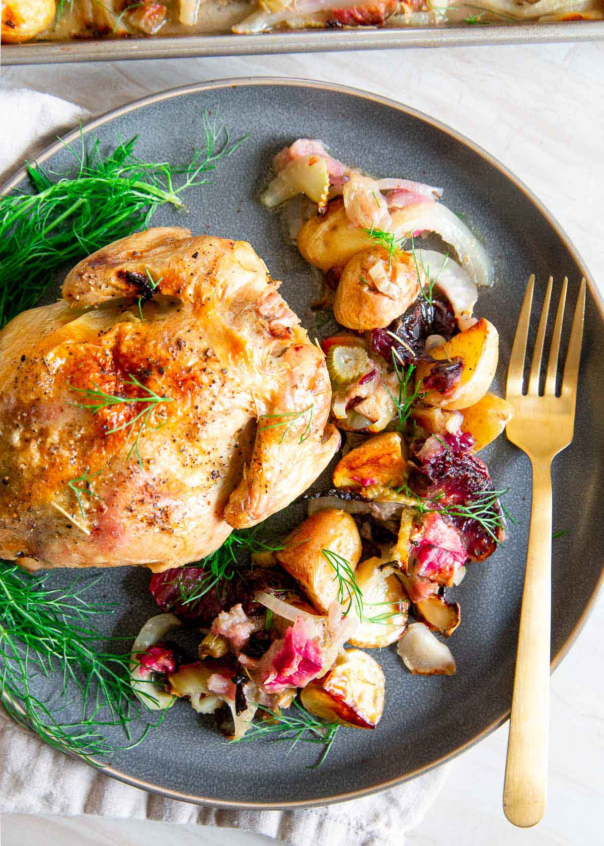 Cornish Game Hens are the perfect dinner option for a special meal when you want an impressive meal that's easy to throw together.