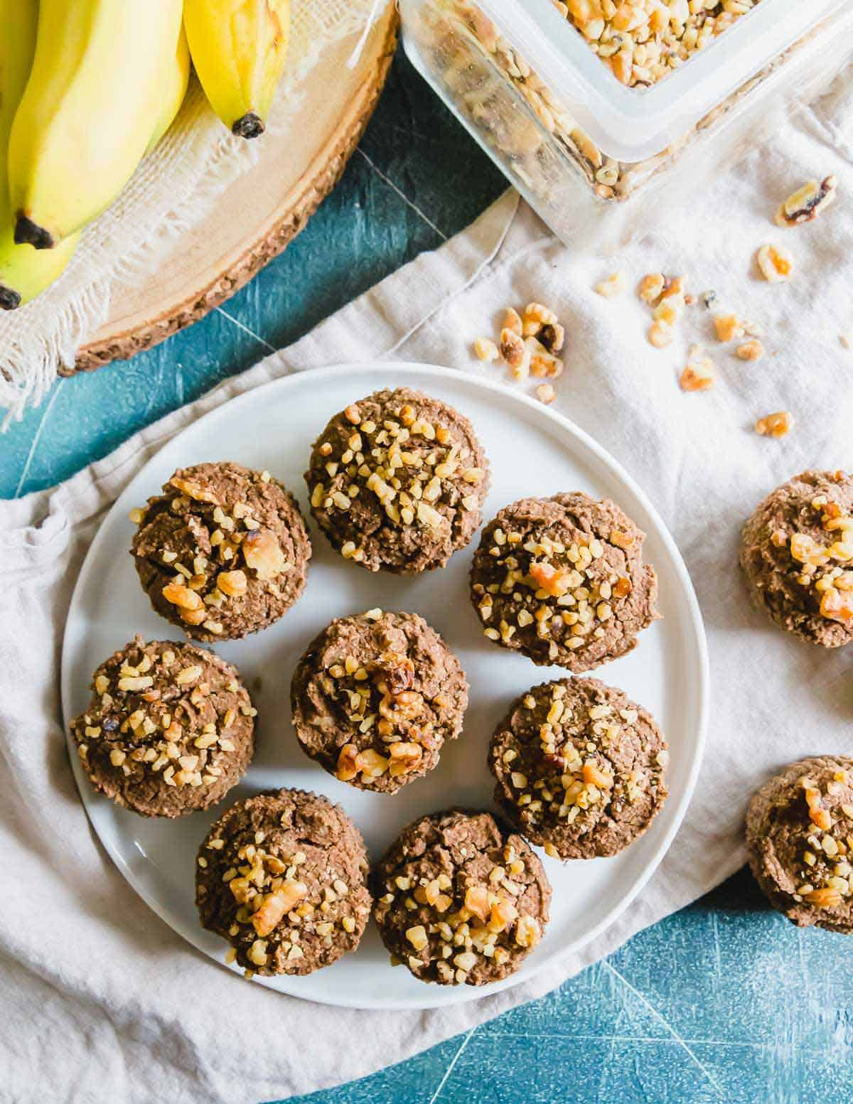 Nutty, slightly sweet and tender almond pulp muffins are the perfect way to use leftover almond pulp from making almond milk at home.