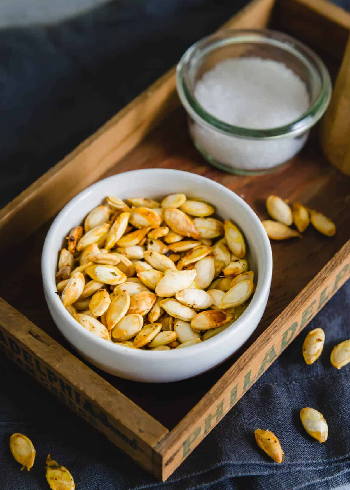 Learn how to make crispy, delicious roasted winter squash seeds with this easy method and simple seasoning.