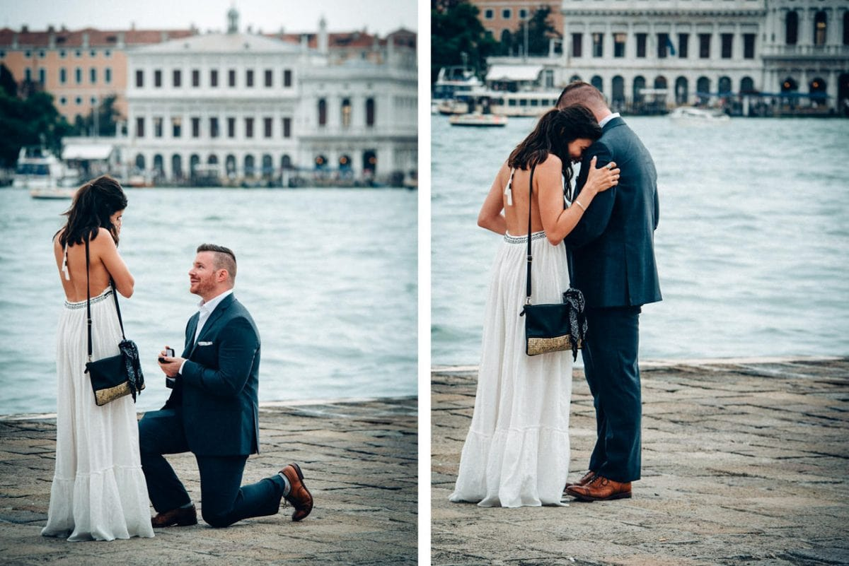 Wedding Proposal in Venice - Couple Photos Venice