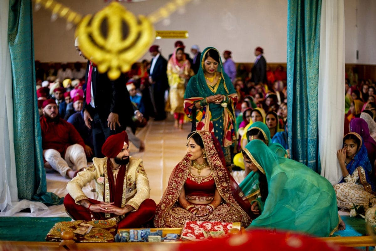 Singh Sabha Gurdwara Wedding