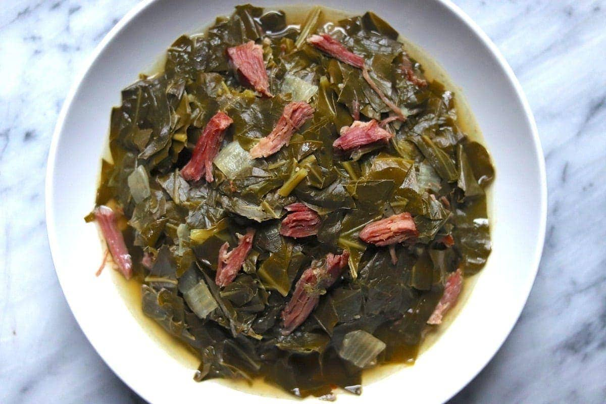Southern-Style Collard Greens Recipe | The Hungry Hutch