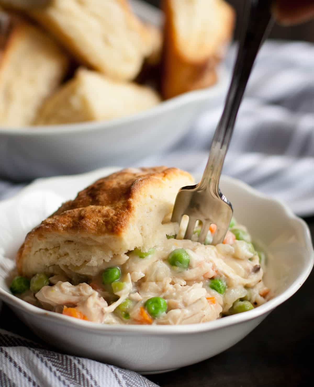 Creamy Chicken and Biscuits-10