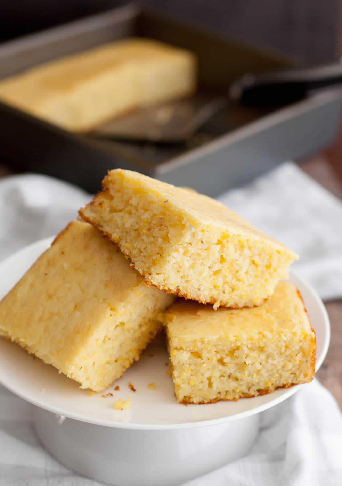 Fluffy Sweet Cornbread-6