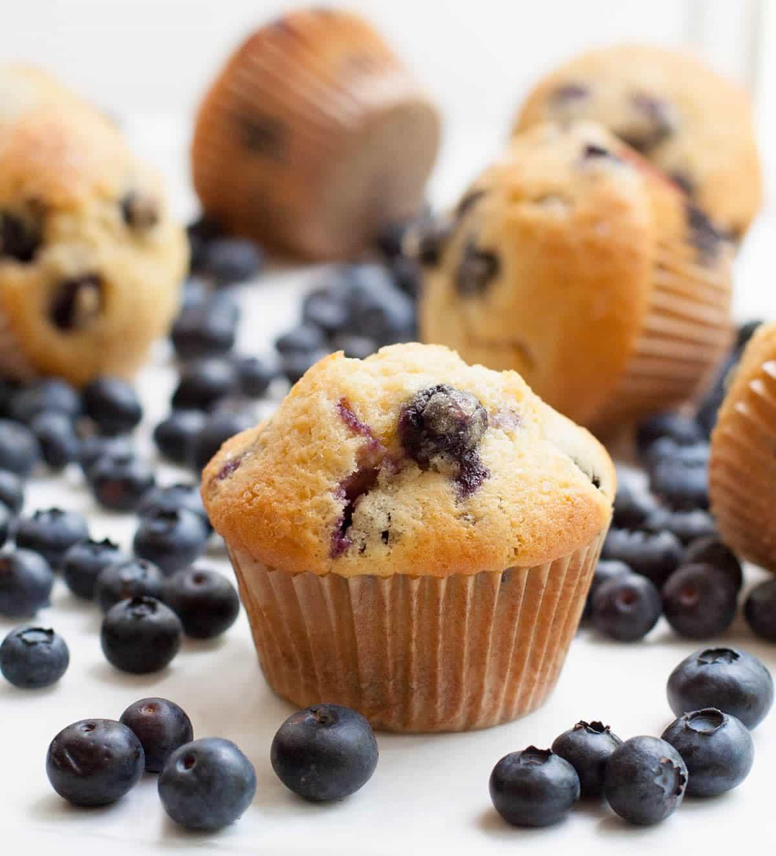 Blueberry Cream Cheese Muffins-10
