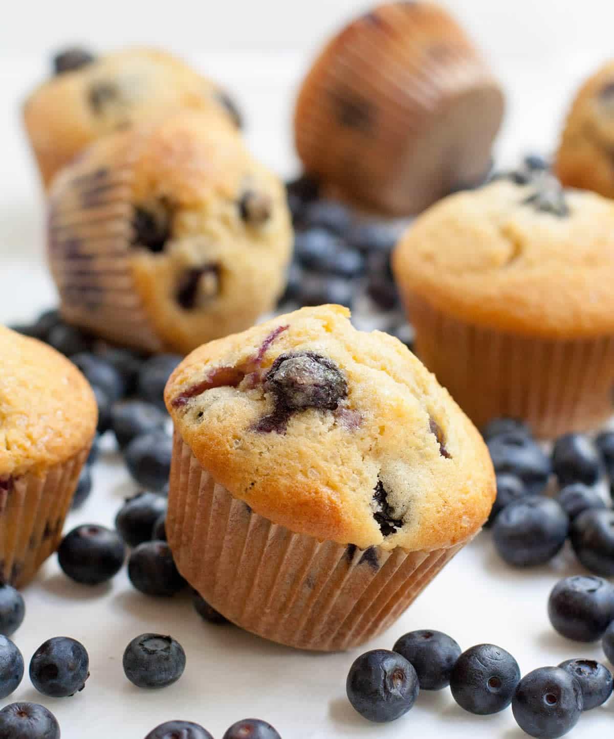 Blueberry Cream Cheese Muffins-9