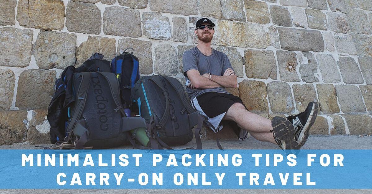 minimalist travel hacks