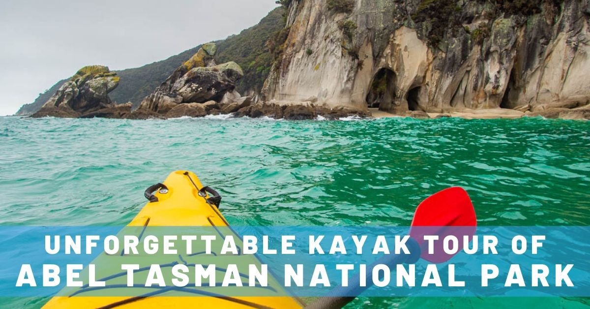 kayaking in tonga island marine reserve in able tasman national park