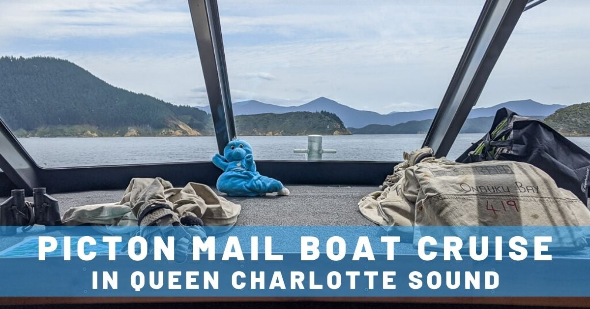 picton mail boat cruise in queen charlotte sound