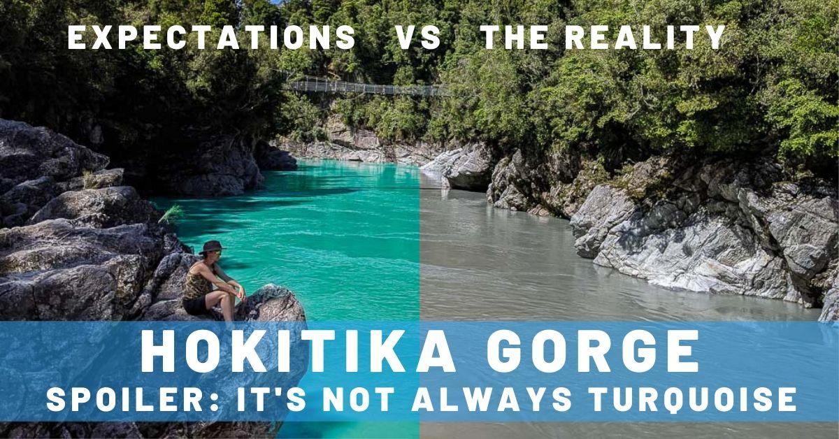 Hokitika Gorge New Zealand Cover