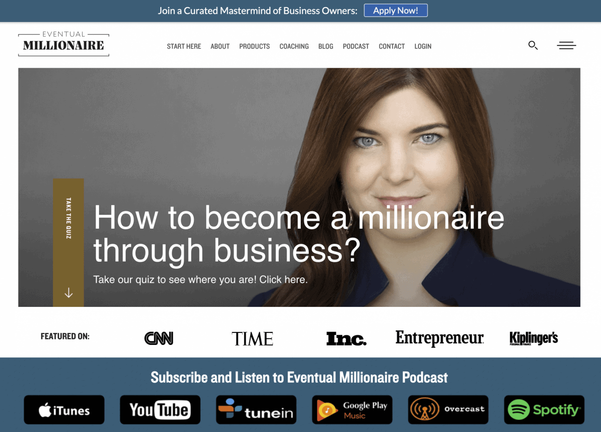 Eventual Millionaire Podcast of Jamie Masters