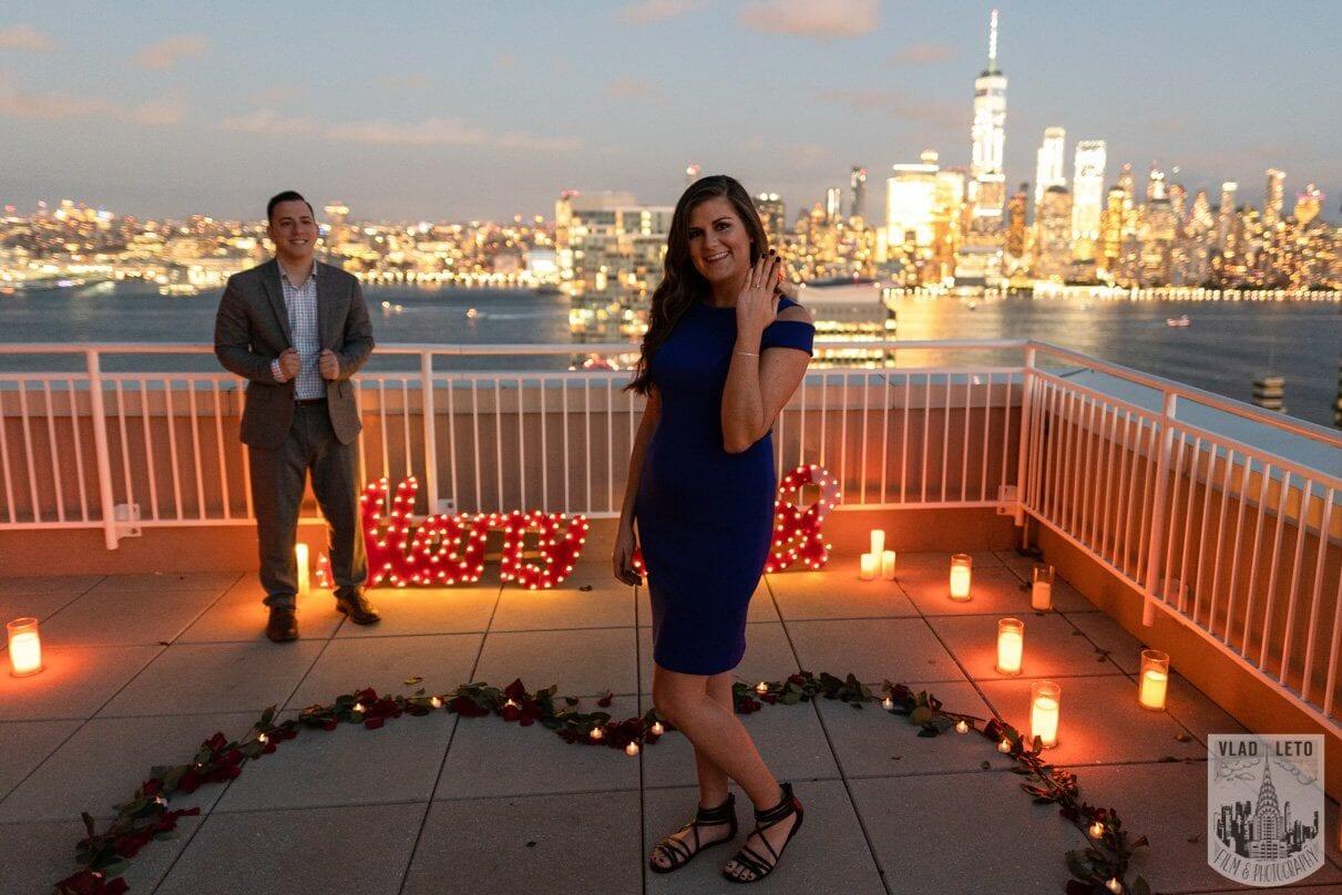 Photo 5 Jersey City Rooftop Proposal | VladLeto