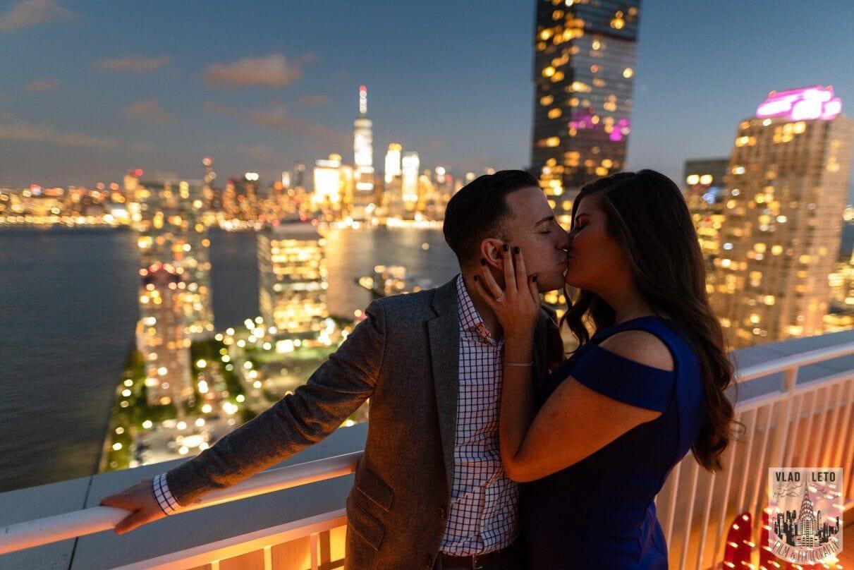 Photo 3 Jersey City Rooftop Proposal | VladLeto