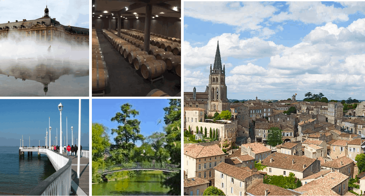 Culural Activities around Bordeaux Saint Emilion Cap Ferret Arcachon