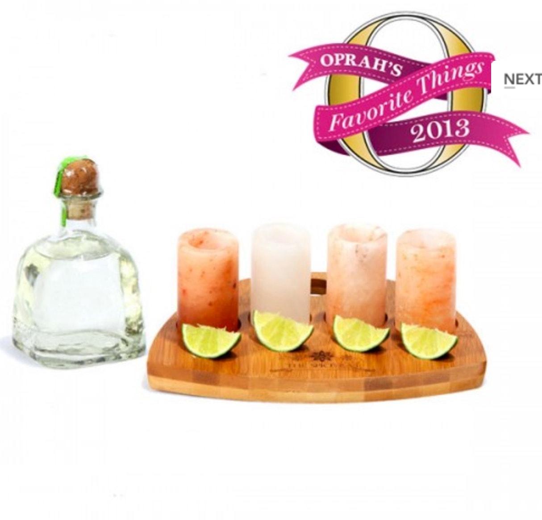 Himalayan Salt Shot Glasses for Tequila