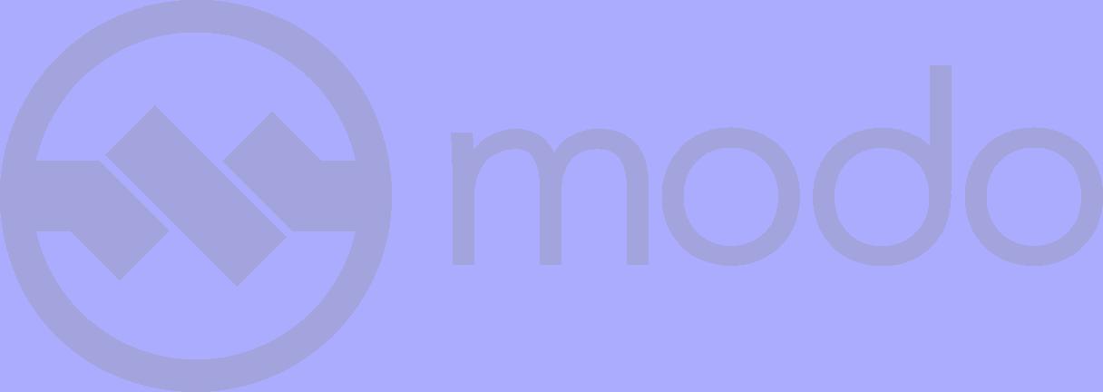 modo footer logo