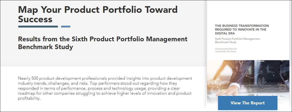 Product Portfolio Management Benchmark Study