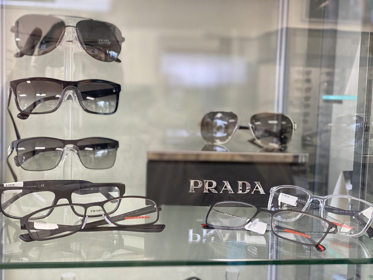 PRADA eyeglasse & sunglasses