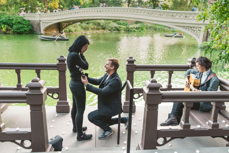 Photo Bow Bridge Marriage Proposal 3 | VladLeto