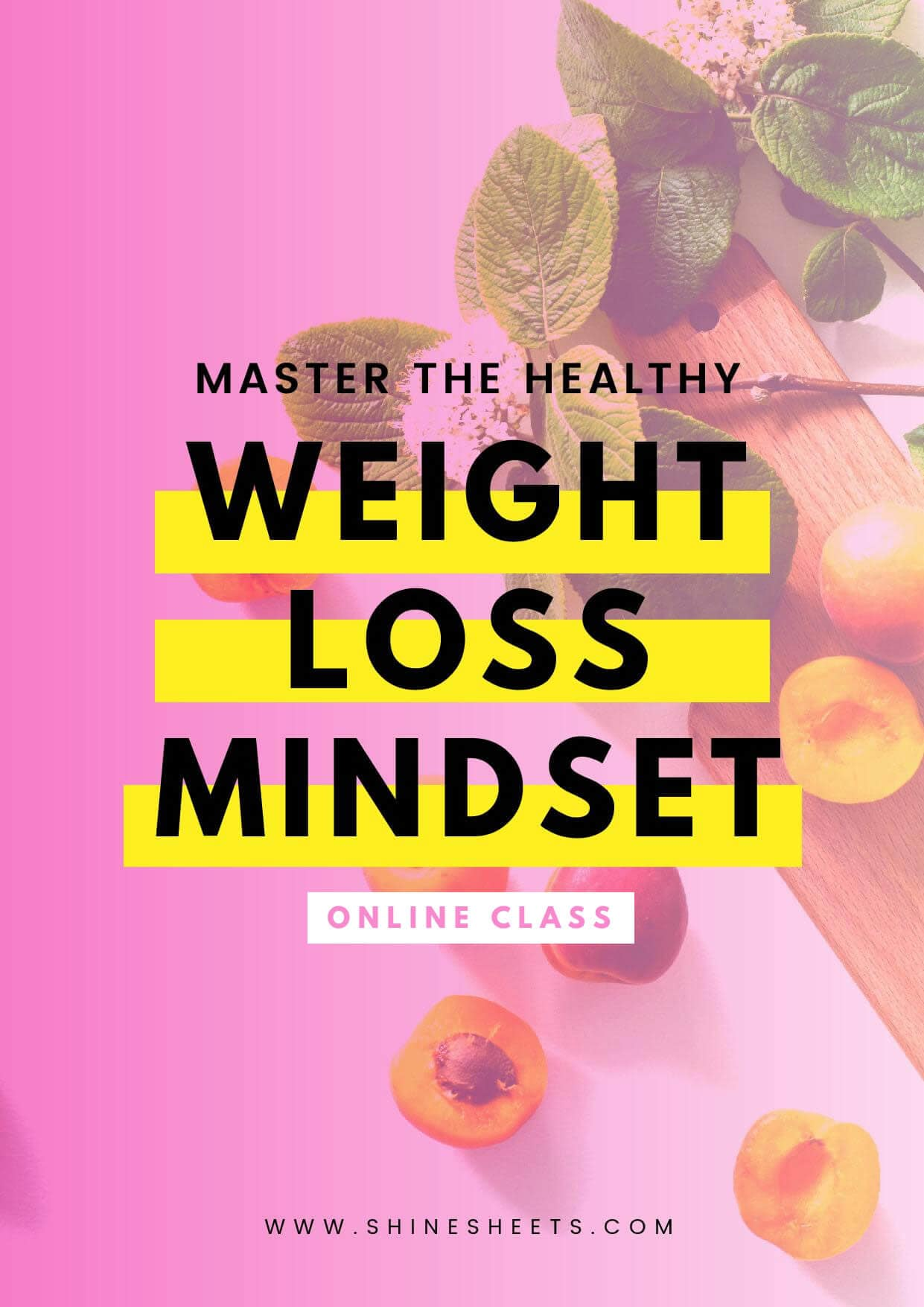 Master The Healthy Weight Loss Mindset ONLINE CLASS + E-BOOK (42 PAGES)