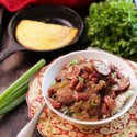 Slow Cooker Red Beans and RIce For One | One Dish Kitchen