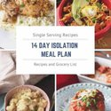 14 day isolation meal plan | one dish kitchen