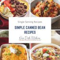 pictures of meals made with beans | one dish kitchen