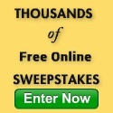 THOUSANDS OF FREE NLINE SWEEPSTAKES ENTER NOW SMALL SQUARE