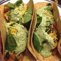 Sweet Potato and Black Bean Burritos via zagleft - 1