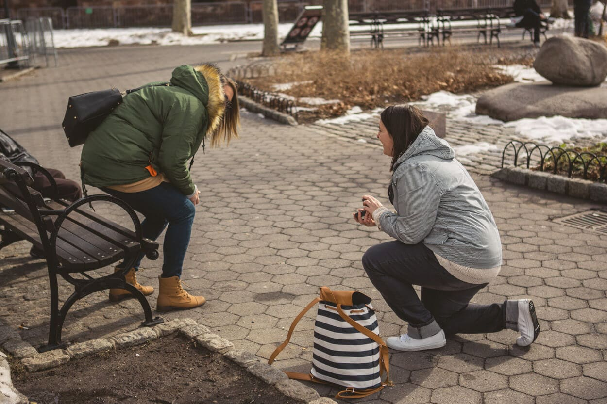 Photo 5 Battery Park Marriage Proposal 2 | VladLeto