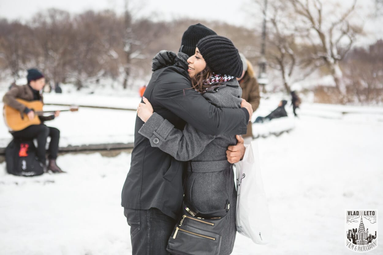 Photo 7 Central Park Bethesda Terrace Marriage Proposal with a guitarist | VladLeto