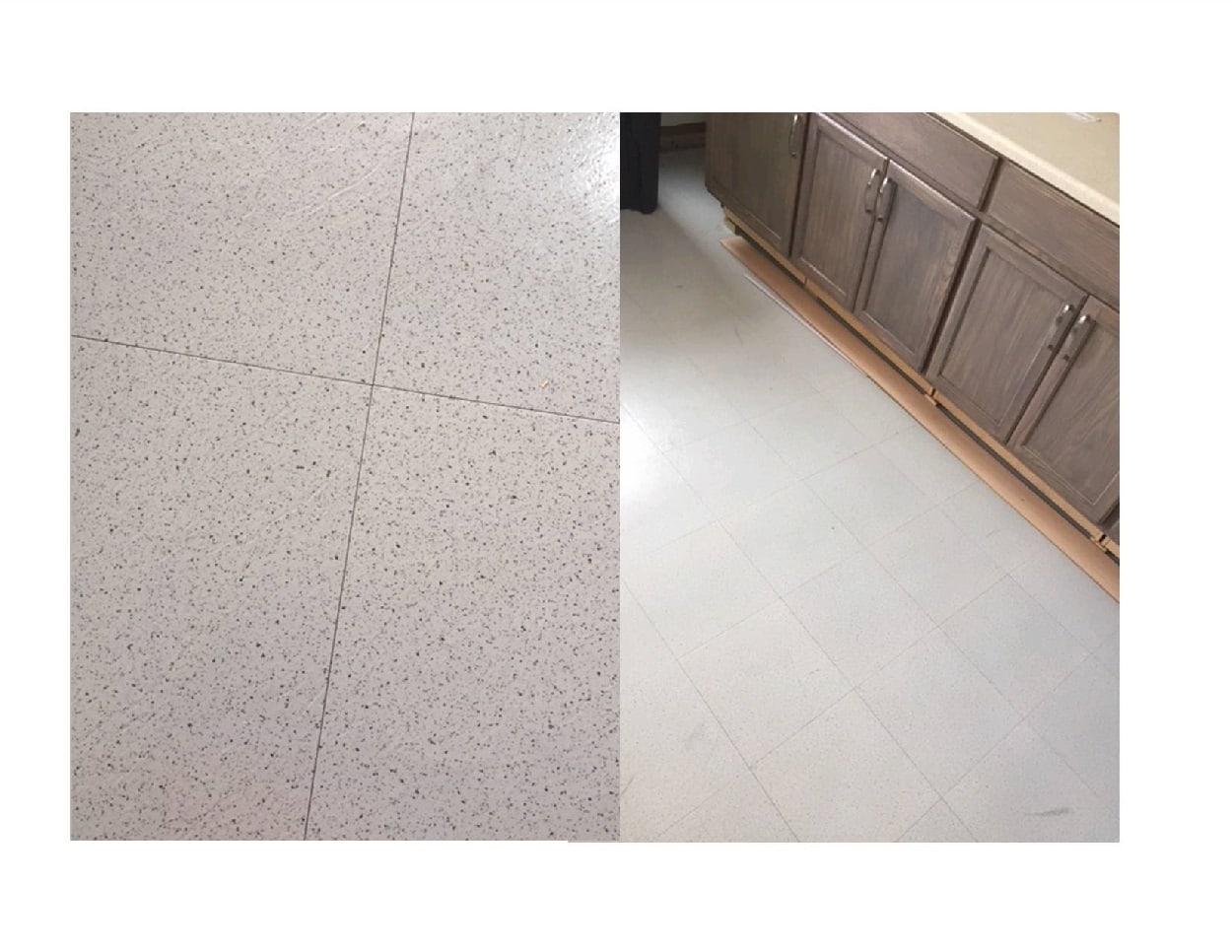 Salt & Pepper Garage Floor Tile