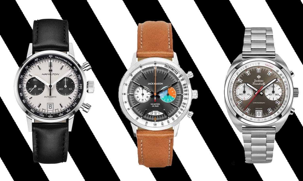 Racing Watches on Men's Style Pro