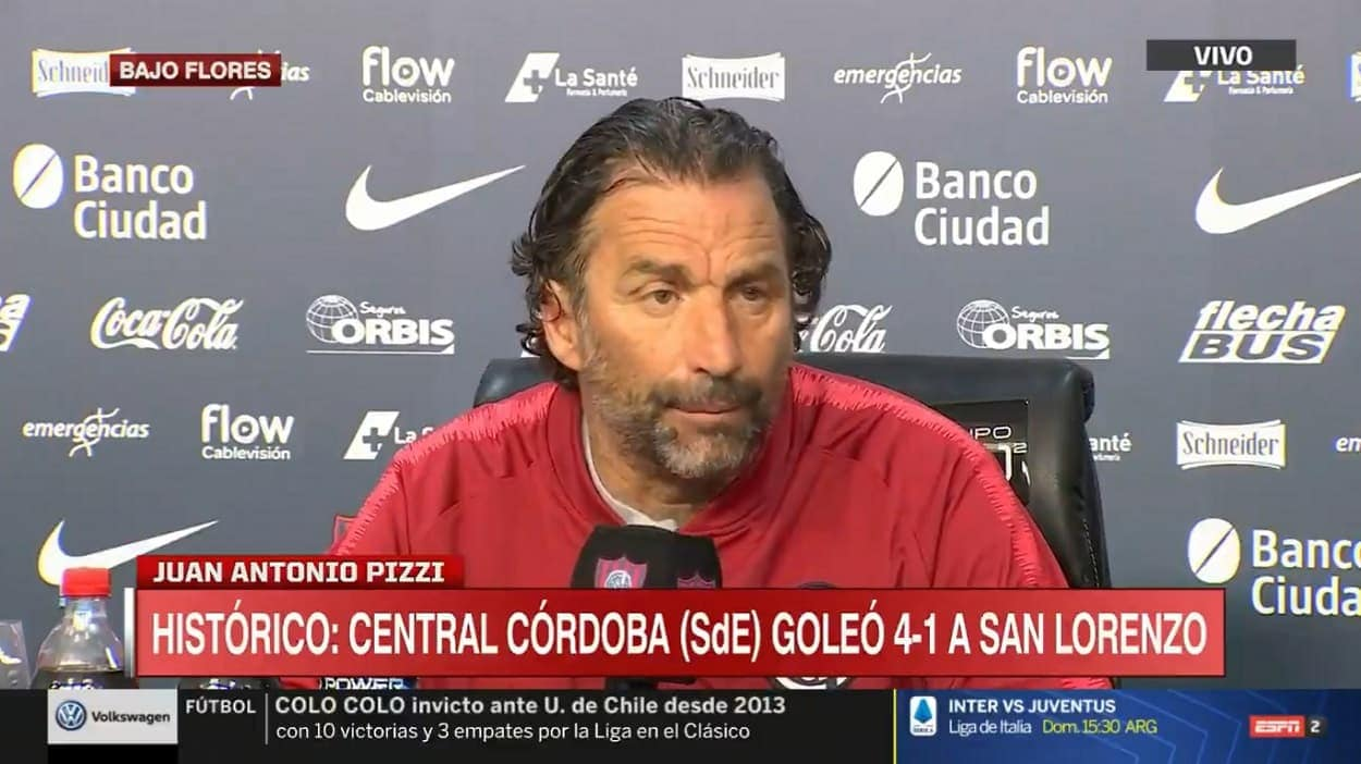 Juan antonio pizzi central cordoba