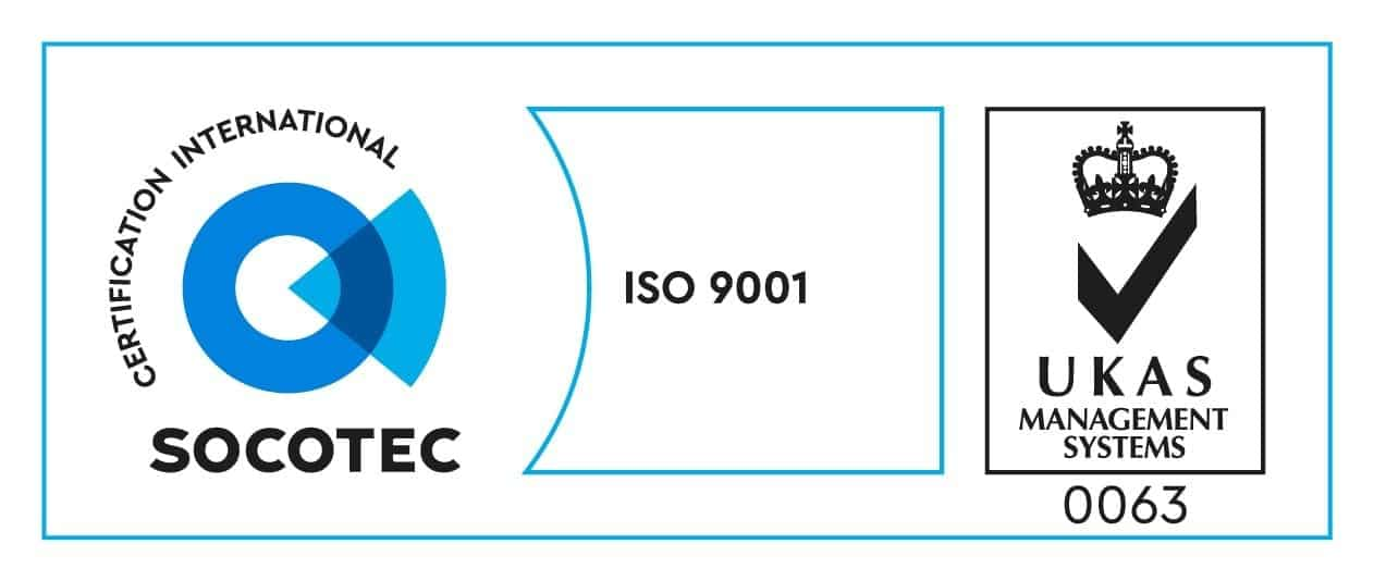 ISO9001 2015 acreditation logo
