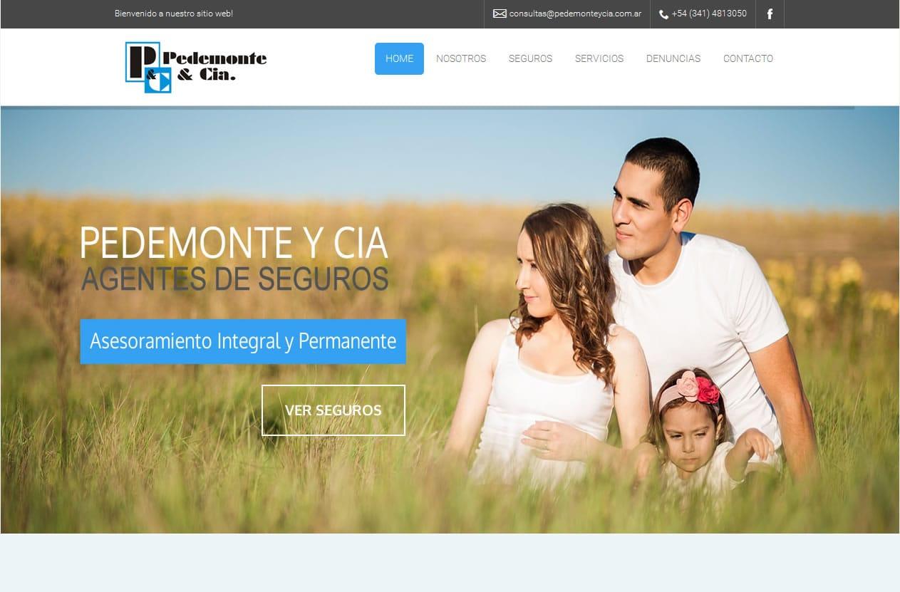 pedemonte y cia website