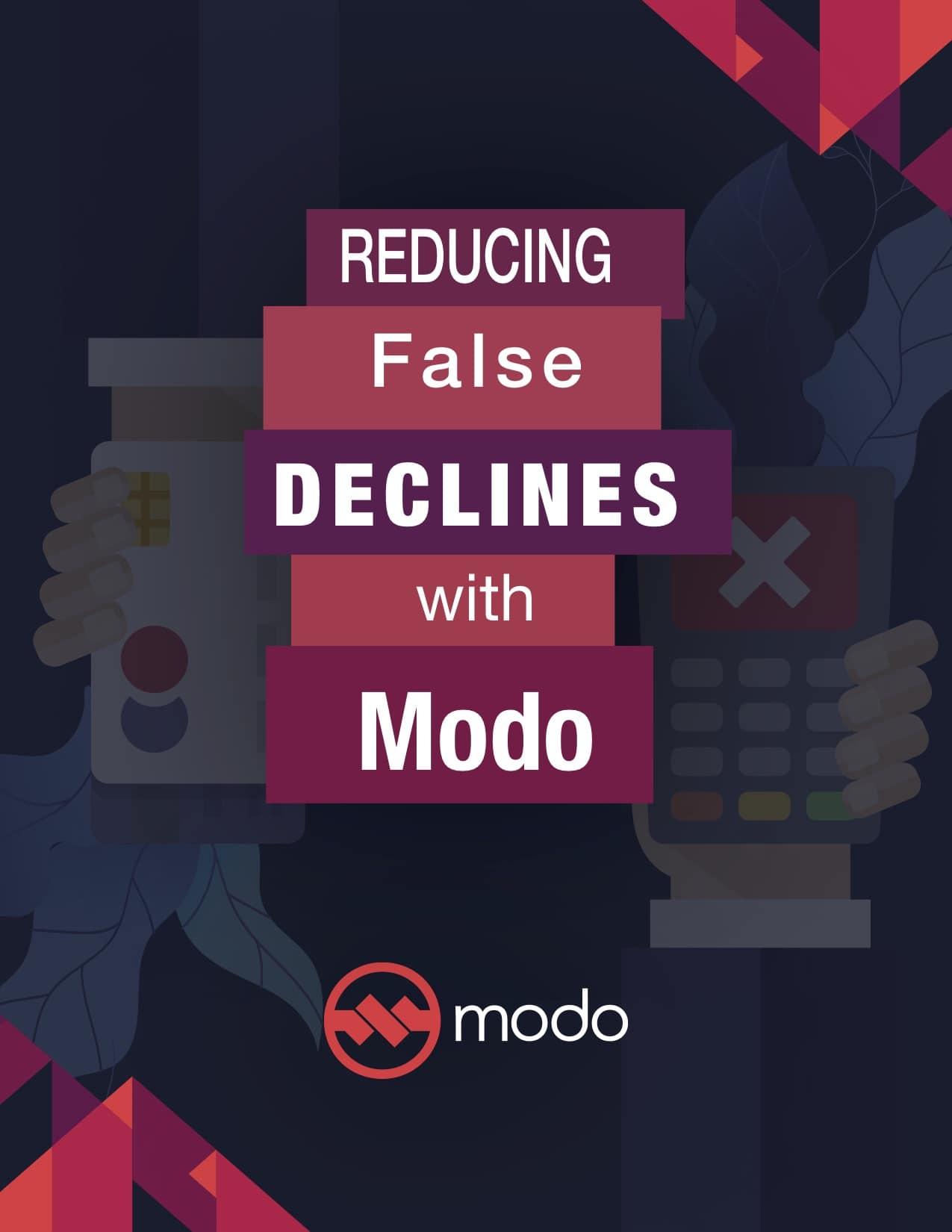 Reducing False Declines cover