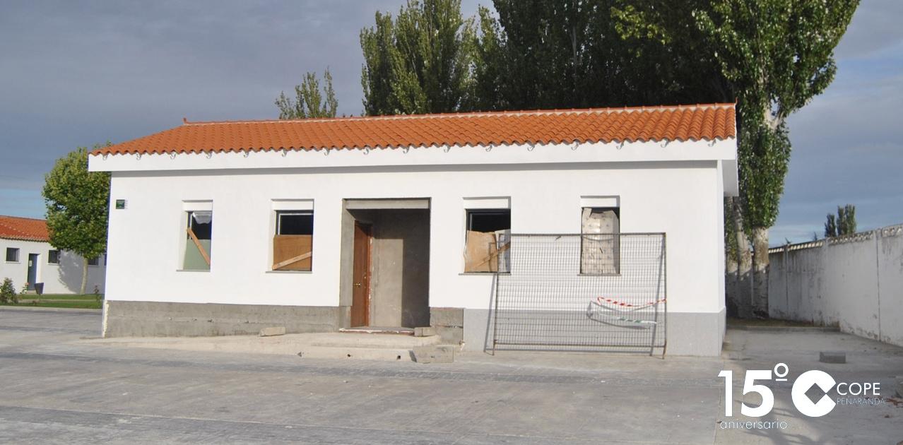 Nuevos vestuarios en el polideportivo municipal de Peñaranda